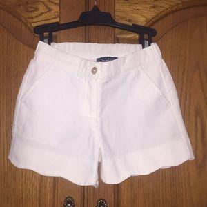 Girls  Scalloped Shorts
